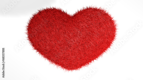 Cuore Rosso Con Sfondo Bianco Stock Photo And Royalty Free Images