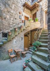 Scenic sight in Bomarzo, province of Viterbo, Lazio, central Italy.