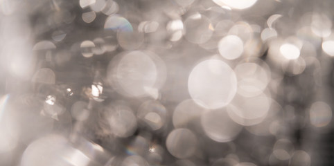 Blur white bokeh abstract