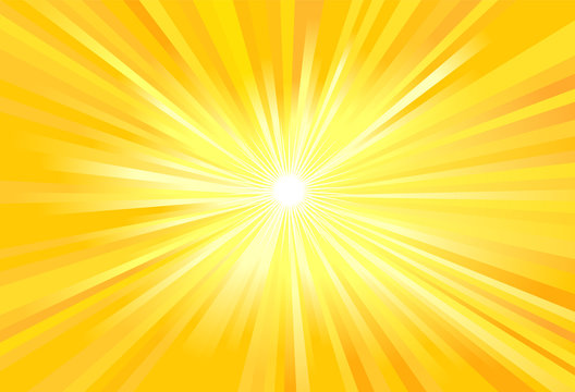 Sun light rays vector image