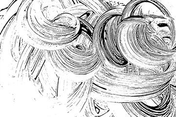 Grunge soap texture invert. Distress black and white rough foam trace ravishing background. Noise dirty rectangle grunge foam texture. Dirty artistic soap background. Vector illustration.