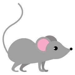 Mouse wild animal flat icon