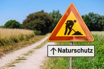 Schild 255 - Naturschutz