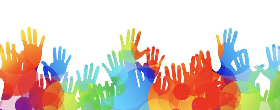 mani, comunità colori