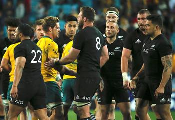 Rugby Union - Australia Wallabies vs New Zealand All Blacks - Stadium Australia, Sydney, Australia