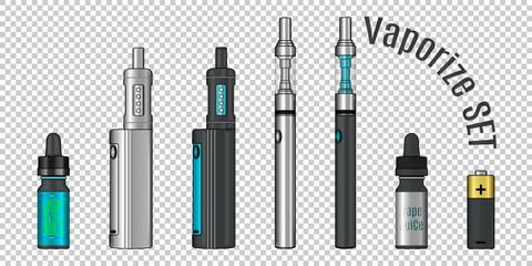 Vaporize set, E-cigarette tools