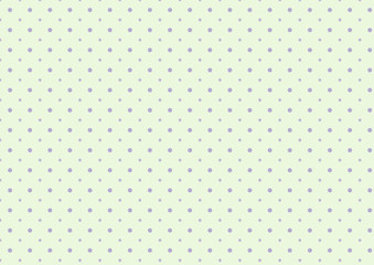 Cute sweet purple polka dots with light green lime background template pattern design
