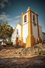 Portuguese Rural Church