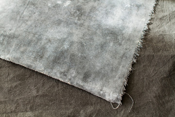 Textured canvas backgrounds in sunlight