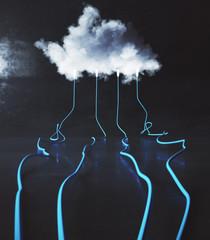 Cloud service background