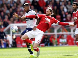 Championship - Nottingham Forest vs Middlesbrough