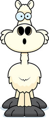 Surprised Cartoon Llama
