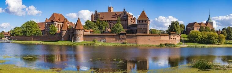 Teutonic Castle in Malbork,Poland
