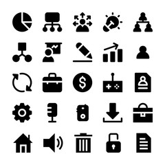 Project Management Solid Icons