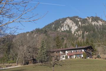 Bewaldete Berge am Schliersee