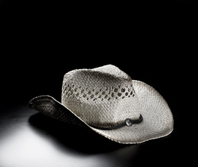 Straw Cowboy Hat.