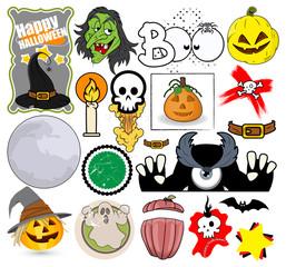 Cartoon Halloween Vector Graphics