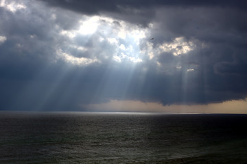 Rays of Hope on the Ocean