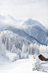 Wall Mural - Wintermärchen in den Alpen