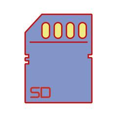 technology micro sd data memory