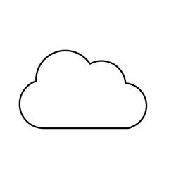 line nice cloud design