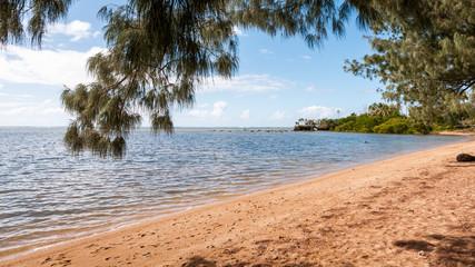Tranquillité sur la plage