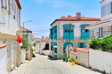 Alacati village,Cesme,Izmir,Aegean coast of Turkey