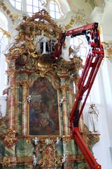 Keuken foto achterwand Monument Renovation and restoration of the church