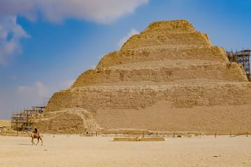 エジプト ジェセル王の階段ピラミッド -Step pyramid , Egypt