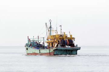 Southern china fishing boat