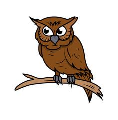 Owl Vector clipart