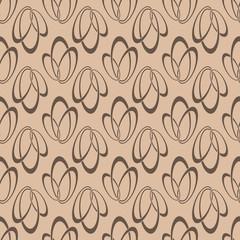 Brown geometric seamless background
