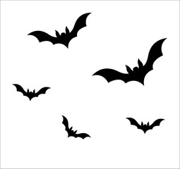 Flying Bats Vector