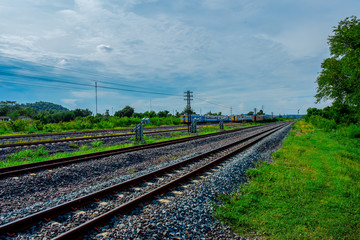 Train - Vehicle, UK, Railroad Track, England, Europe