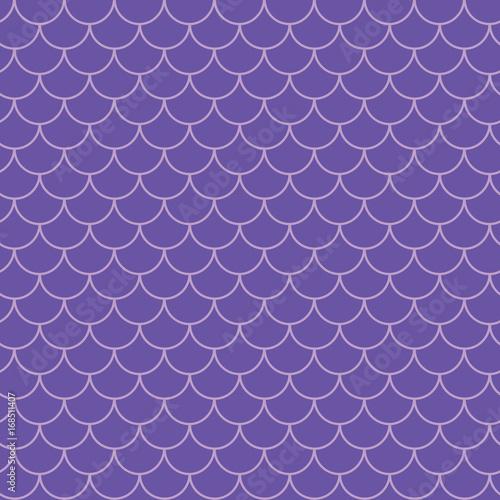 Mermaid Tail Seamless Pattern Fish Skin Texture Tillable
