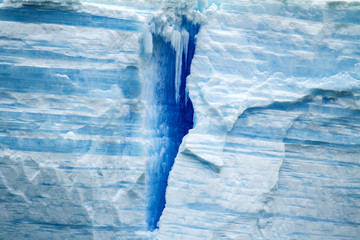 Antarctica - Antarctic Peninsula - Tabular Iceberg in Bransfield Strait
