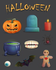 spooky halloween event decoration items
