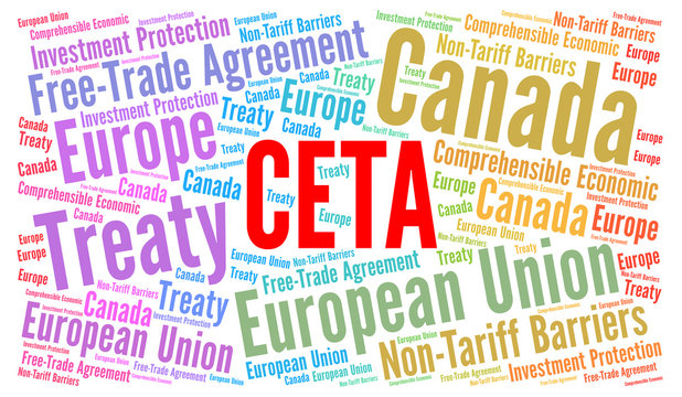 CETA word cloud