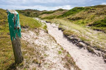 Weg durch die Dünen auf Baltrum