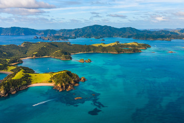 awesome islands landscape with turquoise sea