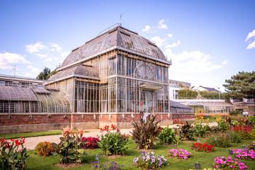 Serre du jardin des plantes, Nantes