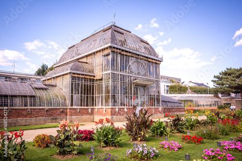 Serre du jardin des plantes, Nantes\