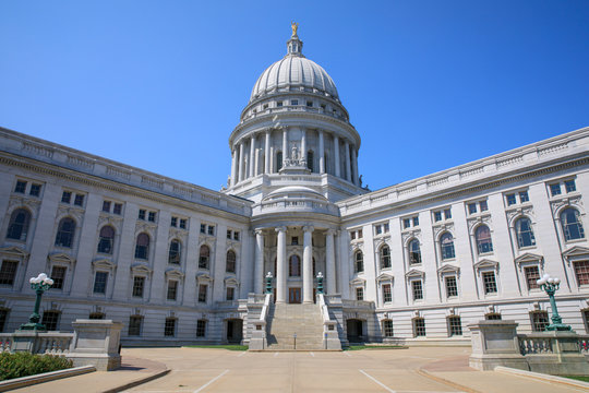 Wisconsin State Capitol Building in Madison