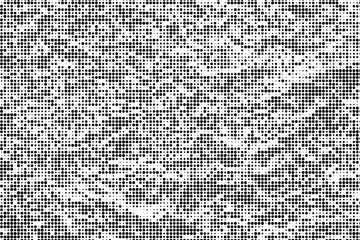 Monochrome halftone background Abstract  grunge texture