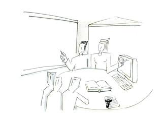 Schulung am Arbeitsplatz