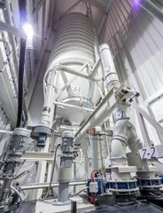 Heavy industry, water treatmant, lime silo