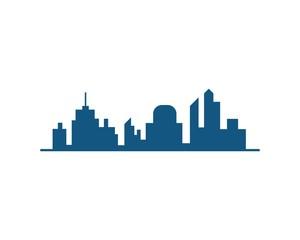 building cityscape vector logo