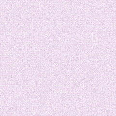 Small abstract shapes in shades of gray, pink, and purple are randomly distributed on a white background in mosaic fashion.