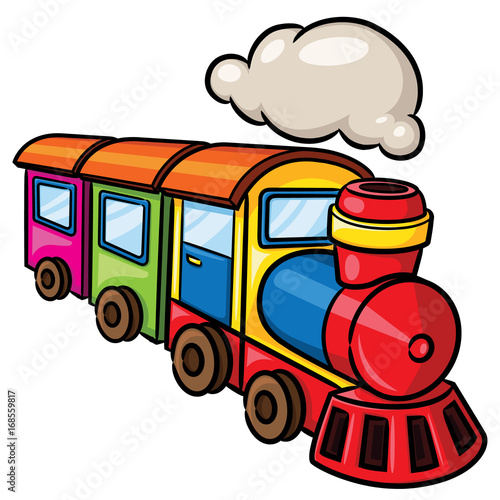 quot train cartoon illustration of cute cartoon train  quot  stock image and royalty free vector files on train engine clip art outline train engine clip art images