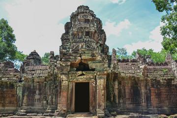 Angkor Wat, Ta som Temple, Siem reap, Cambodia.